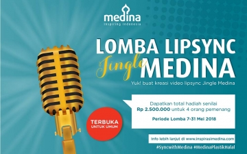 Lomba Lipsync Jingle Medina