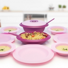 Amethyst Serve and Dine Set