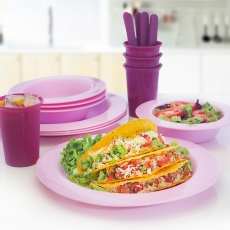 Amethyst Microwaveable Dining Set