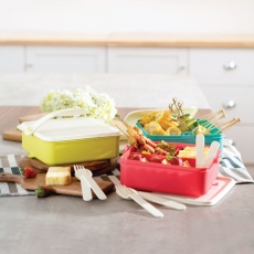 Tropic Snap 'N Stack Family Lunch Set