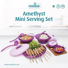 Amethyst Mini Serving Set