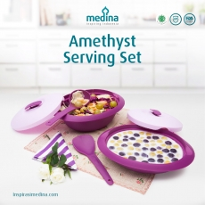 Amethyst Serving Set